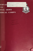 Journal of the Royal Army Medical Corps