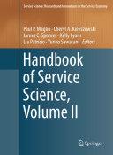 Pdf Handbook of Service Science Telecharger
