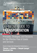 The Definitive Guide to Transportation Book
