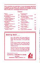 The London Quarterly   Holborn Review Book PDF