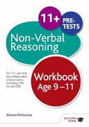 Non-verbal Reasoning Workbook Age 9-11