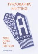 Typographic Knitting Pdf