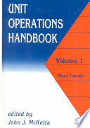Unit Operations Handbook Book