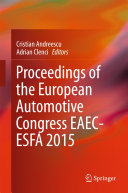 Proceedings of the European Automotive Congress EAEC-ESFA 2015