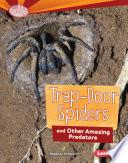 Trap Door Spiders and Other Amazing Predators