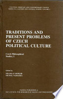 Traditions and Present Problems of Czech Political Culture