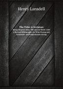 The Tithe in Scripture ebook
