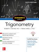 Schaum s Outline of Trigonometry  Sixth Edition