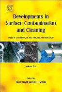 Developments in Surface Contamination and Cleaning  Types of Contamination and Contamination Resources