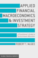 Applied Financial Macroeconomics and Investment Strategy Pdf/ePub eBook