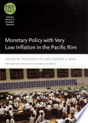 Monetary Policy with Very Low Inflation in the Pacific Rim Pdf/ePub eBook