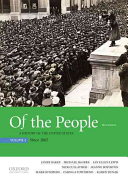 link to Of the People: A History of the United States, Volume 2: Since 1865 in the TCC library catalog