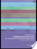 Commonsense Methods For Children With Special Educational Needs Book PDF