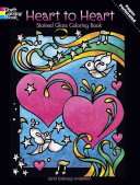 Pdf Heart to Heart Stained Glass Coloring Book