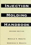 Injection Molding Handbook Book