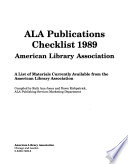 Publications - American Library Association