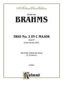 Pdf Trio in C Major, Op. 87 Telecharger