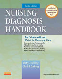 Nursing Diagnosis Handbook,An Evidence-Based Guide to Planning Care,10