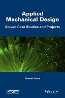 Pdf Applied Mechanical Design