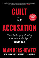 Guilt by Accusation Book