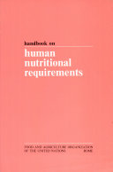Handbook on Human Nutritional Requirements