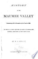 History of the Maumee Valley
