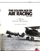 The Golden Age of Air Racing  1927 1933