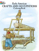 Early American Crafts and Occupations Coloring Book - Seite 46