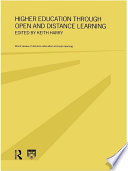 Higher Education Through Open And Distance Learning PDF