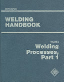 Welding Handbook  Welding processes  part 1