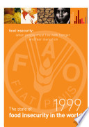 State Of Food Insecurity In The World 1999