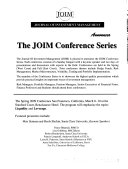 Journal of Investment Management