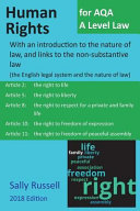 Human Rights for Aqa a Level Law