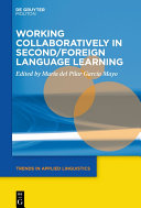Working Collaboratively in Second/Foreign Language Learning Pdf/ePub eBook