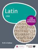 Latin for Common Entrance One