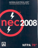 National Electrical Code: 2008