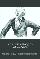 Samantha Among the Colored Folks