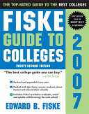 Fiske Guide to Colleges 2007 Book