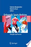 Orthopedic Sports Medicine Book PDF