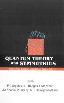Quantum Theory and Symmetries [Pdf/ePub] eBook