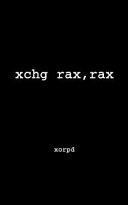 Xchg Rax, Rax