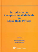 Introduction to Computational Methods in Many Body Physics