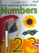 Wipe Clean Early Learning Activity Book   Numbers