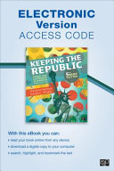 Keeping the Republic  Electronic Version