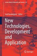 New Technologies  Development and Application