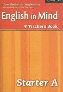 English in Mind Starter A Combo Teacher s Book