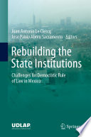 Rebuilding the State Institutions