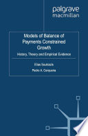 Models of Balance of Payments Constrained Growth