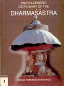 Encyclopaedic Dictionary Of The Dharma Stra