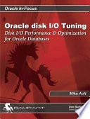 Oracle Disk I/O Tuning